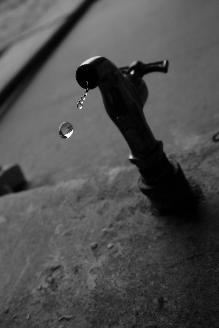 a drop of water ~ a drop of life