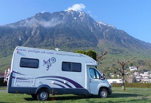 Hire a Just go motorhome