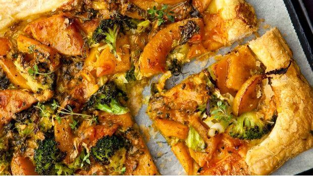 Zeleninový koláč z máslové dýně Foto: