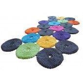 Dywany dziergane ze sznurka,poduszki wełniane,lniane,ręcznie robione ,skandynawski design - Motarnia