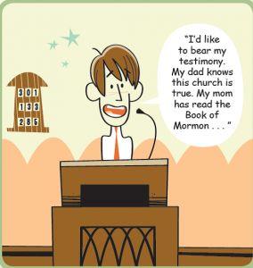 How can I increase my testimony?