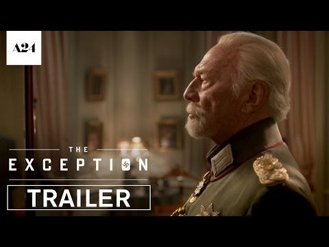 THE EXCEPTION (June 2017) - Official Trailer - Directed by David Leveaux Starring Lily James, Jai Courtney, Janet McTeer, and Christopher Plummer - A riveting World War II thriller that is filled with espionage and romance in equal measure, The Exception follows German soldier Stefan Brandt (Jai Courtney) as he goes on a mission to investigate exiled German Monarch Kaiser Wilhelm II (Christopher Plummer). - In theaters June 2, 2017 | A24