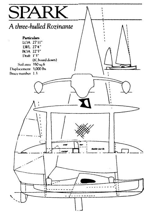 Those who have followed trimaran designs and history will be familiar with the work of Dick Newick. One of his recent briefs was to create ...