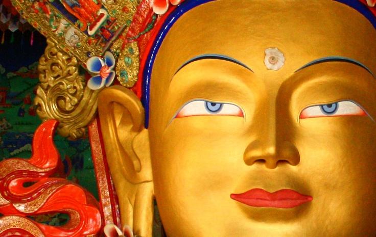 Buddha Maitreya @ Thiksey Monastery