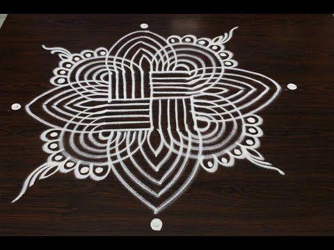 margazhi kolam designs || sankranthi dhanurmasam muggulu designs || easy rangoli designs - YouTube