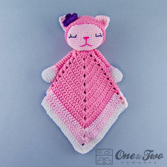 Crochet Amigurumi Pattern Generator : Kitty Lovey / Security Blanket - PDF Crochet Pattern ...