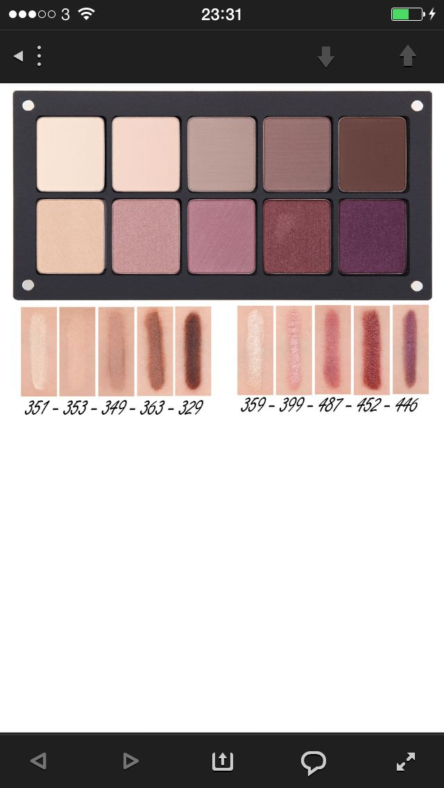 Inglot dupe of the Laura Mercier Artist Palette  imgur: the simple image sharer