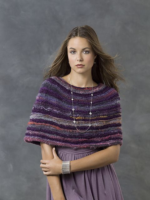 Ravelry: So Cozy Warmer pattern by Cathy Payson. I would not do this in Red Heart though! This would be perfect in handspun leftovers. :)