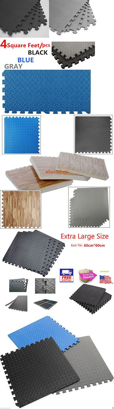 Equipment Mats and Flooring 179806: 6 18 30 36 42 48 54 60Pcs Eva Foam Floor Interlocking Mat Show Floor Garage Gym -> BUY IT NOW ONLY: $125.95 on eBay!
