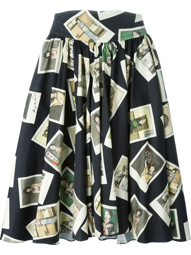 Buy Olympia Le-Tan Women's Black Multi Photo Print Skirt, starting at €1473. Similar products also available. SALE now on!