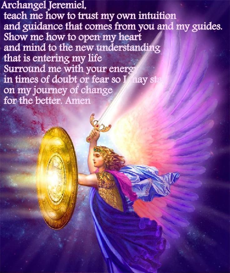 Archangel Jeremiel   Angels, Archangels   Pinterest