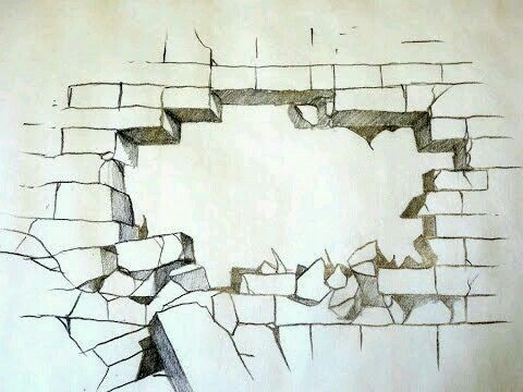 Gebroken muur