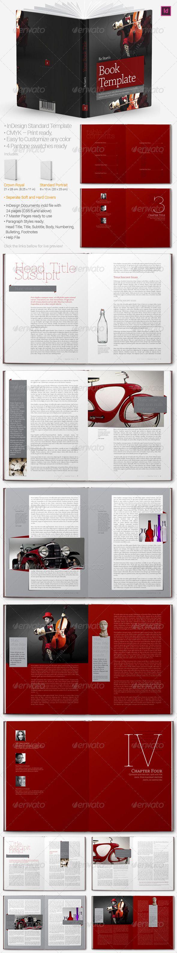 Color book in design - Book Templates