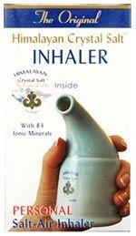 Inhalador de Sal del Himalaya