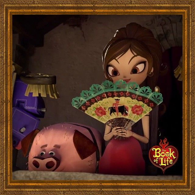 The Book Of Life movie - Maria and Chuy
