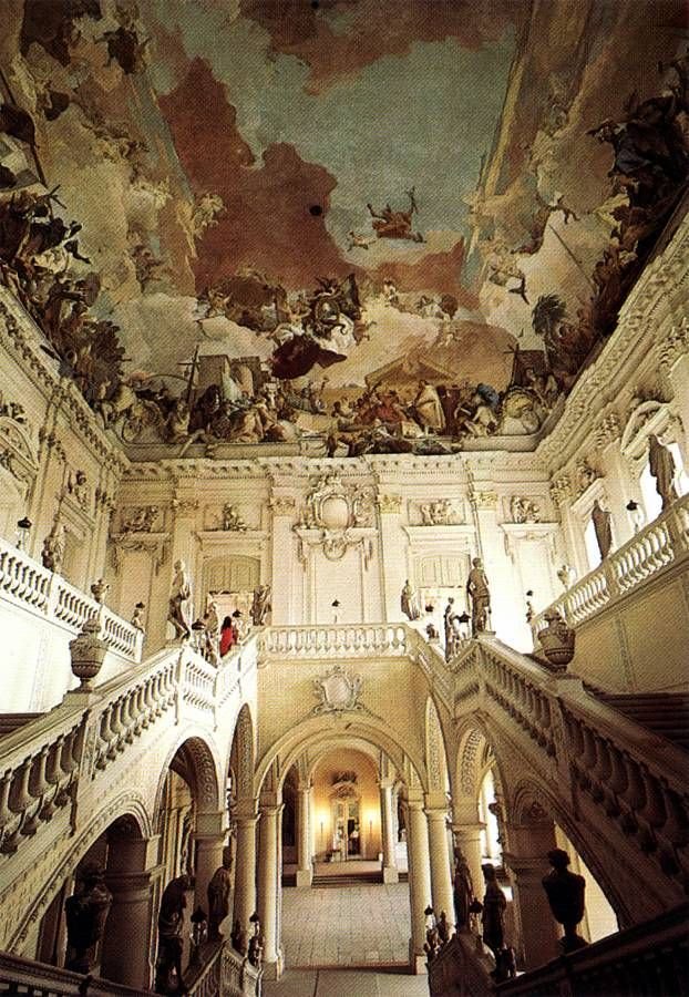 125 best palaces staircases images on pinterest for Design hotel wurzburg
