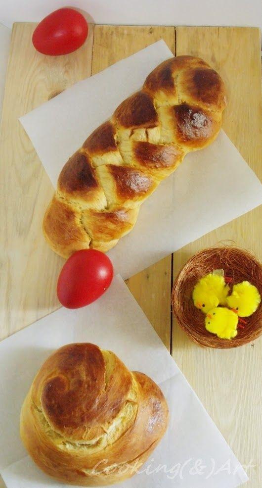 Πασχαλινά Τσουρέκια / Greek Easter Bread !