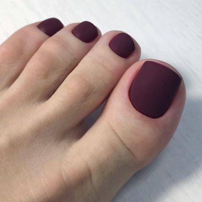 45 Amazing Toe Nail Colors To Choose For Next Season Toe Nail