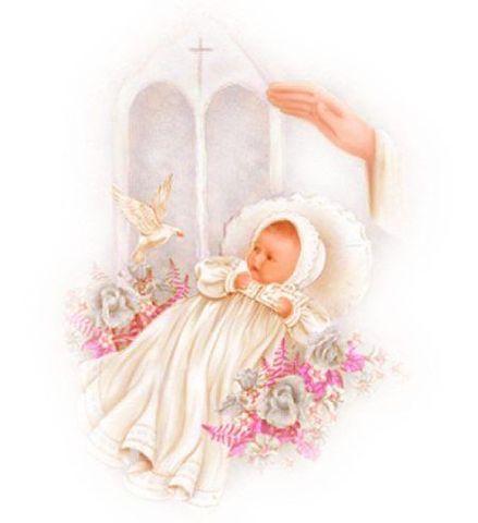 Крещение ребенка картинки в альбом