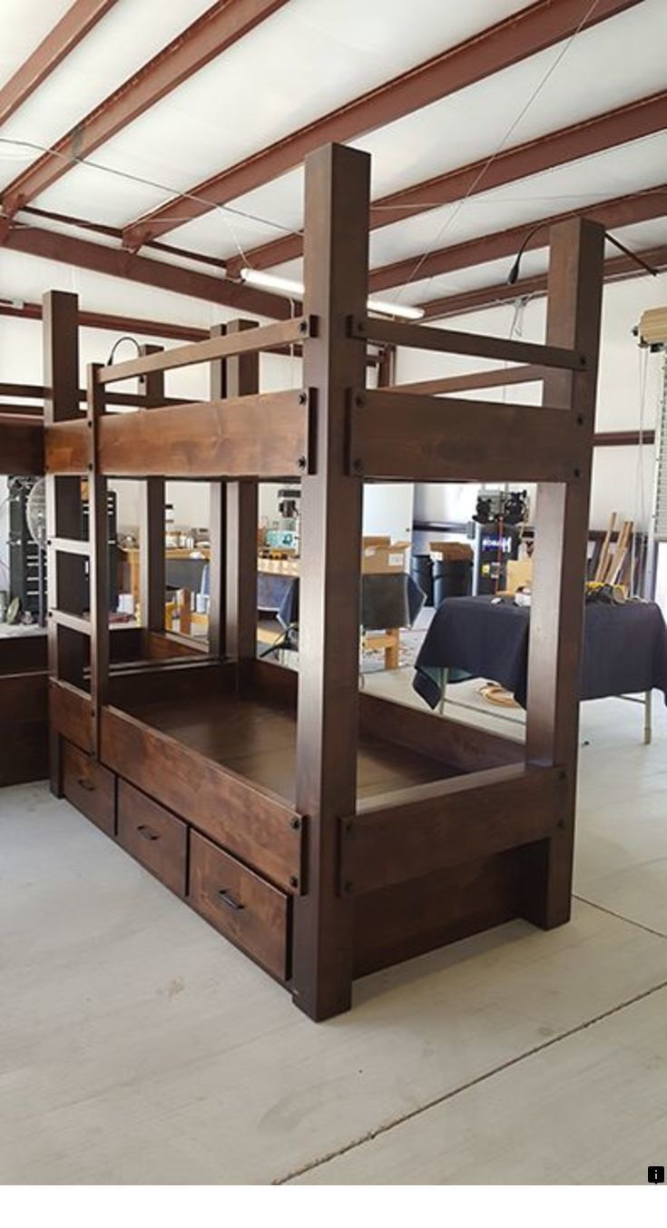 Discover More About Single Over Double Bunk Bed Plans Please Click Here To Read More The Web Presence Bunk Beds Queen Loft Beds Bunk Beds With Stairs