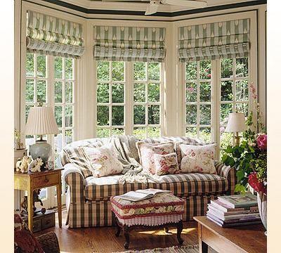 Wall Treatments Bow Windows Curtain Ideas Drapery Romans