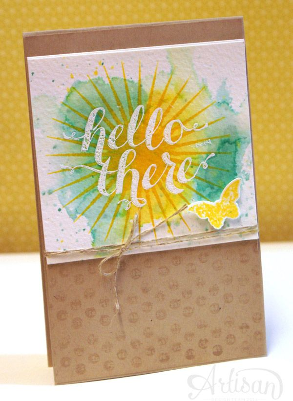 By Teneale Williams  Kinda Eclectic  Stampin' Up! Artisan DT 2014