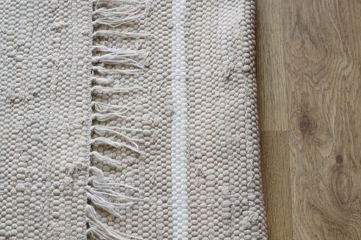 Swedish Vintage pale grey and white Rag rug pastel colors Floor Rug by ScandicDiscovery on Etsy