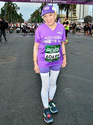 Major #Fitspo Moment: 91-Year-Old Runner Finishes San Diego Marathon | Meet our new running idol, Harriette Thompson! #SELFmagazine