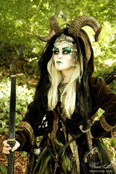 fantasy larp makeup women - Google Search