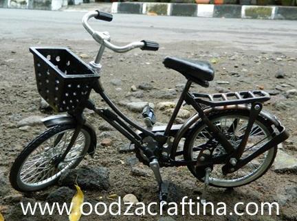 miniature bike with basket