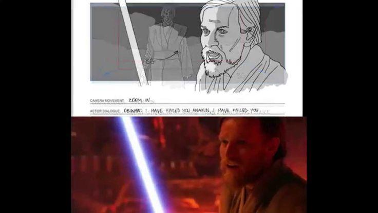 Star wars storyboard study