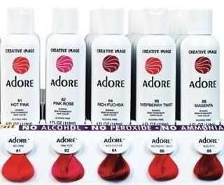 Adore Creative Image Shining Semi Permanent Hair Color Rinse 4oz