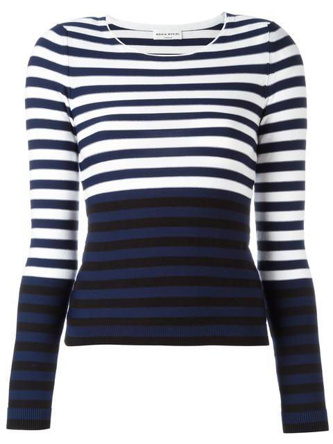 SONIA RYKIEL 스트라이프 스웨터. #soniarykiel #cloth #스웨터
