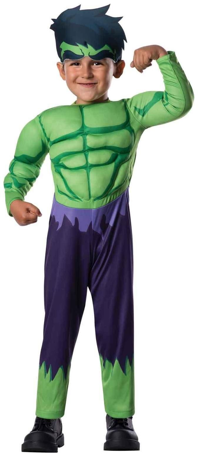 boys avengers assemble hulk toddler boy costume green - Pictures Of Halloween Costumes For Toddlers