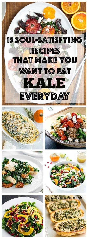 Buzzfeed: 15 Soul Satisfying Ways to Eat Kale Everyday