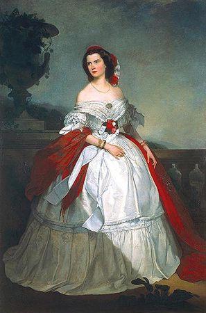 Retrato da Exmª Viscondessa de Menezes, D. Carlota Autor:Meneses, Visconde de Datação:1862 d.C.