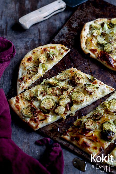 Kokit ja Potit -ruokablogi: Ruusukaalipizza