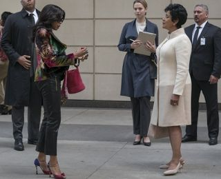 """What Happened On 'Empire' Last Night?    On episode 8 of Empire's fourth season """"Cupid Painted Blind"""" we find out Pamela Rose didn't exists. Diana Dubois had Andre's doctor giving him medicine that was ruining his life and causing him to see things that no one else could see.  Cookie and Lucious are working together to take Diana down. Jamal recently beat Warren up after he found out that he lied to him. Cookie found out where Diana was keeping Warren and paid him a visit.  Cookie Diana…"""