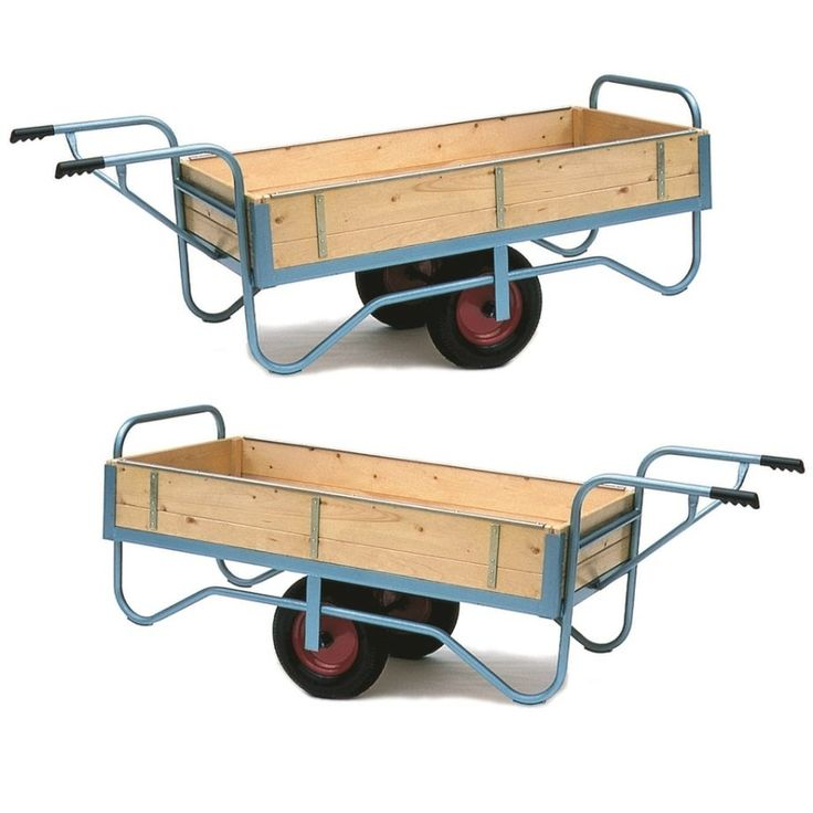 Single Handle Balance Trolley With Solid Ends Amp Sides