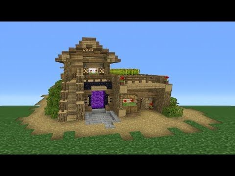 Minecraft Tutorial: How To Make The Ultimate Survival House   YouTube  #minecraftfurniture