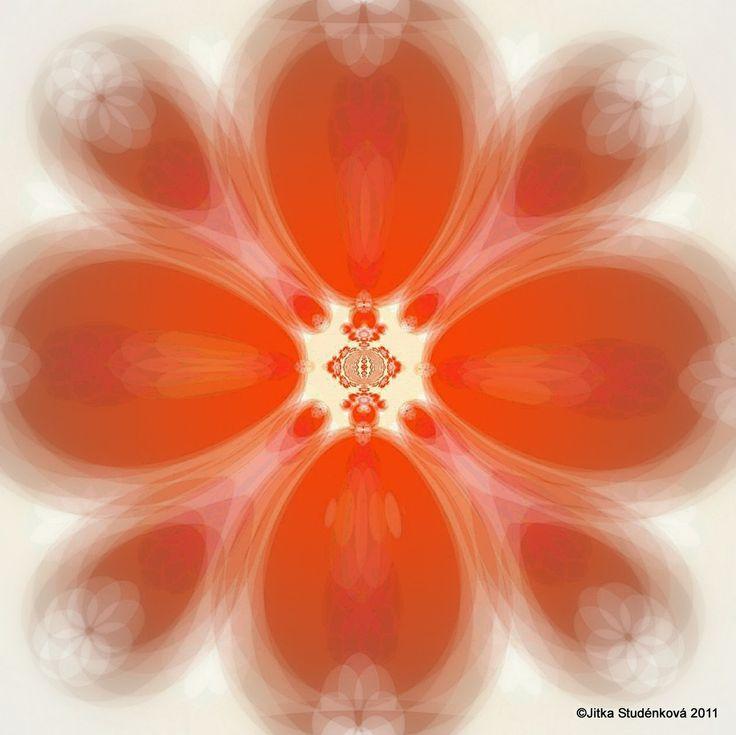 Když taje srdce ledové královny (č.3) Mandala pro podporu uzdravení srdce uzavřeného přijímání lásky, spojení s vnitřní radostí a něhou počítačová grafika, rozměr A3, laminováno jako ochrana proti UV záření Dodáváno bez vodoznaku.