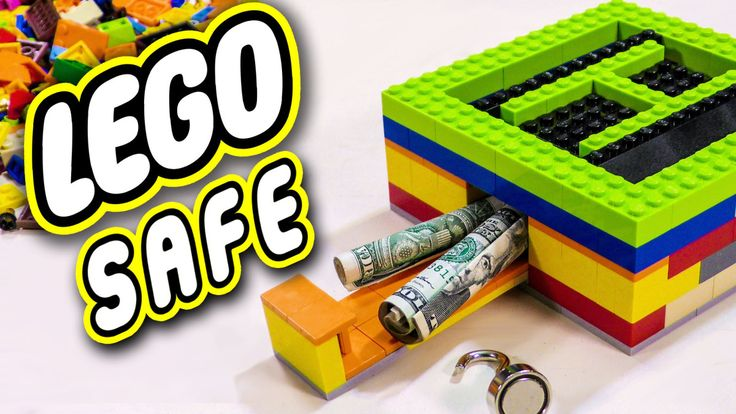 How to Build a Secret, Hidden Security Box Out of Old LEGO Bricks and a Magnet