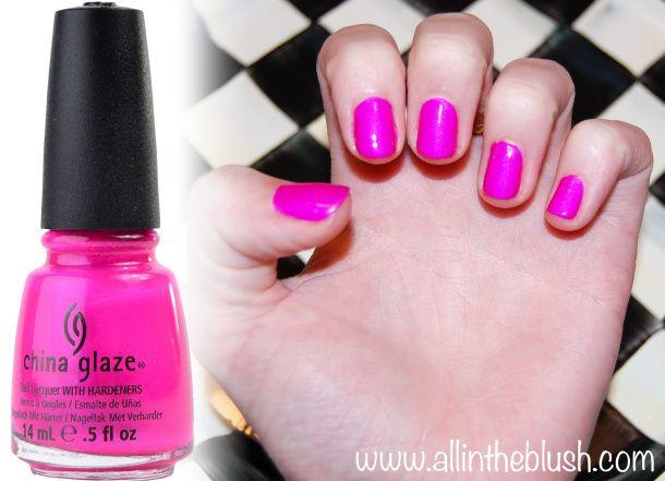 China Glaze Neon Purple Panic