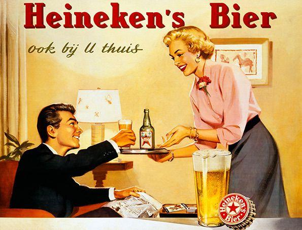 Heineken retro adverts