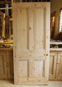 Reclaimed Pine Victorian Internal Door - good source for doors