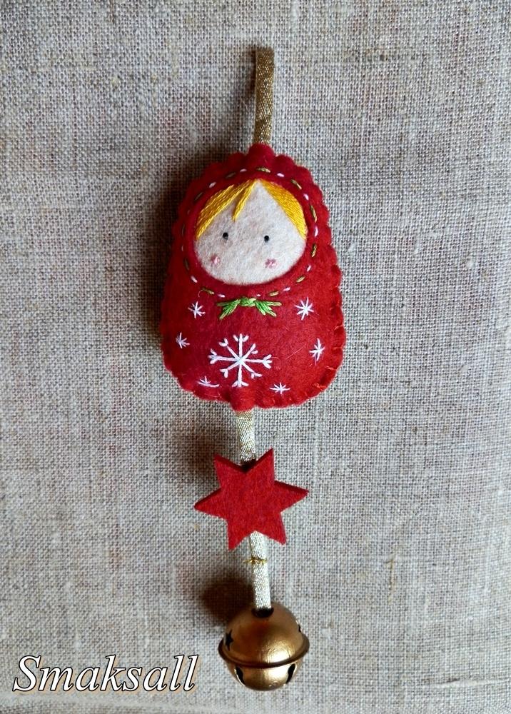 poupée Russe de Noël