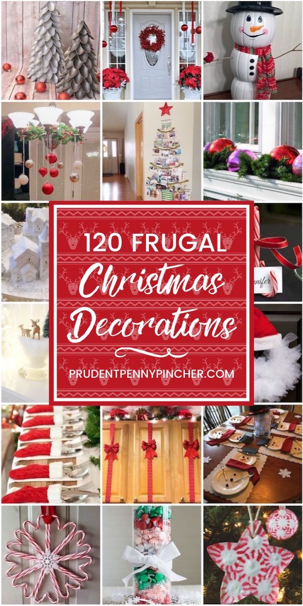120 Frugal Christmas Decorations Frugal Christmas Christmas Decor Diy Christmas Centerpieces