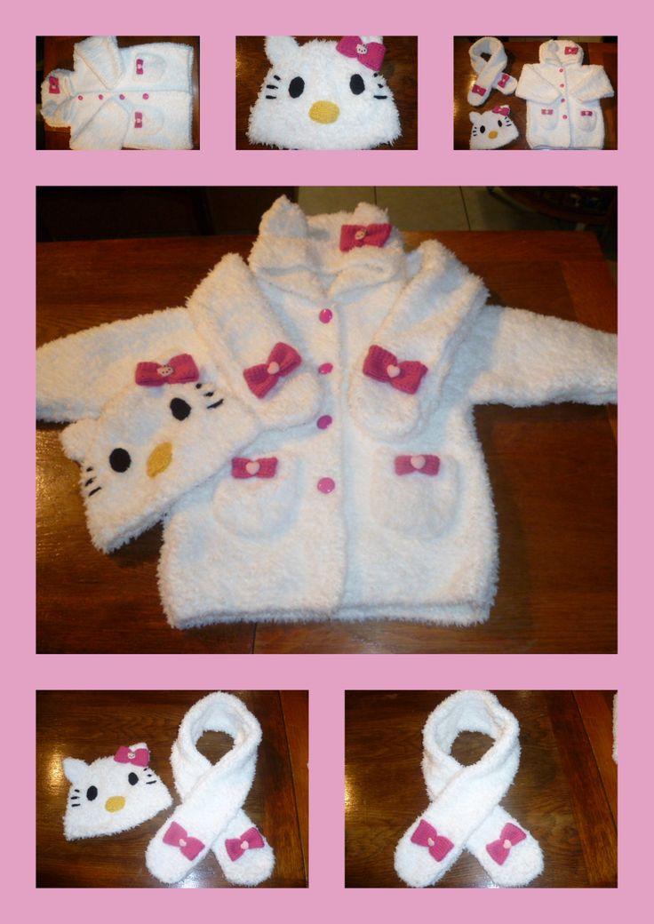 Manteau Bonnet Echarpe 3 Ans Http Crezolibb Blogspot Com Tricot Enfant Tricot Enfant