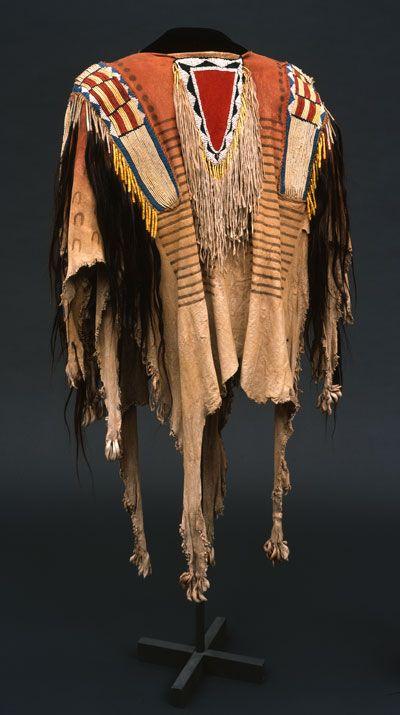 Northern Plains shirt, Paul Dyck collection. NA.202.1184
