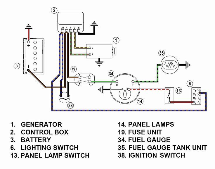 A Wiring Diagram Is Type Of Schematic, Vdo Fuel Gauge Wiring Diagram